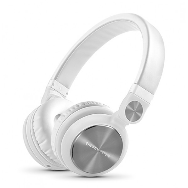 ENERGY SISTEM headphones DJ2, 180° rotation, 40mm, 108dB, λευκό