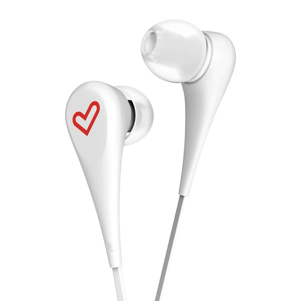 ENERGY SISTEM Earphones Style 1, 90dB, 9mm, λευκό