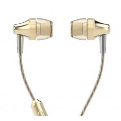 UIISII Ακουστικά Handsfree HM6 Little Gear, χρυσό
