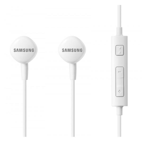 SAMSUNG Earphones HS1303 με μικρόφωνο, High Definition, 1.2m, λευκά