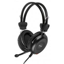 A4TECH Headset HS-30, 3.5mm, 40mm ακουστικά, μαύρα